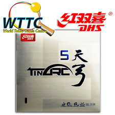Double Happiness DHS TINARC 5 MAX Soft Table Tennis Rubber - BLACK