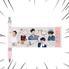 1PC KPOP EXO Black Ink Gel Pen with Cute Photo CHANYEOL SEHUN CHEN Ballpoint Pen