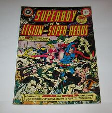 Rare & Vintage Heritage French Comic Book Superboy 1980  FREE SHIPPING