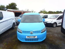 VOLKSWAGEN CADDY MAXI 2013 EX GAS,AIR CON, 84,000 MILES  BLUE £6995 + VAT