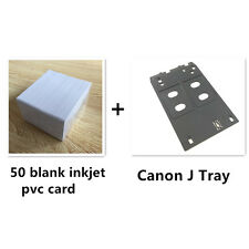 Inkjet PVC ID Card Starter Kit - Canon J Tray - MG5420, MX922, MG7120,iP7230