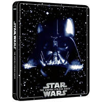 Star Wars Empire Strikes Back 4K UHD + Bluray Zavvi EXCL. Steelbook OOS PRESALE