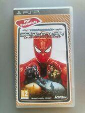 JEU PSP EDITION ESSENTIALS / Spider-Man le règne des ombres / Complet PAL FR