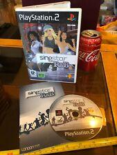 SINGSTAR SING STAR R&B R & B PS2 Playstation 2 Video Game