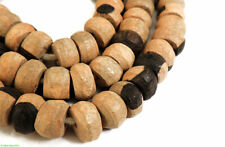 Ebony Wood Two Tone Beads African SALE WAS $24.95