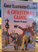 A Chistmas Carol By Charles Dickens Great Illustrated Classics Like New