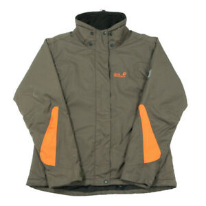 JACK WOLFSKIN Texapore Insulated Waterproof Jacket | Small | Coat Rain Parka Zip
