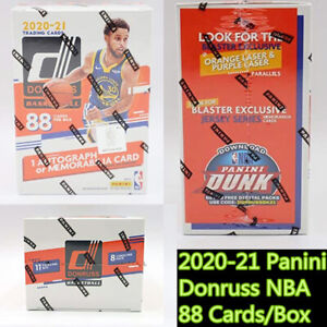 2020-21 Panini Donruss NBA Blaster Box 88 Cards Basketball Brand New Sealed 2021