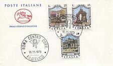 Repubblica Italiana 1973 FDC Cavallino Fontane d'Italia