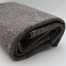 100% Wool Felt Fabric - 1mm Thick - Made in Europe - Natural Brown - 1/2m x 1.8m