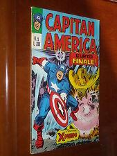 CAPITAN AMERICA 1a Serie no. 5 - OTTIMO ++++ - ORIGINALE - Ed. CORNO 1973