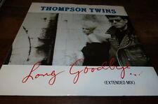 "THOMPSON TWINS - Vinyle Maxi 45 tours / 12"" !!! LONG GOODBYE !!! TWINS 1213 !!!"
