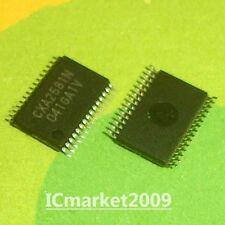 5 PCS CXA2581N TSSOP-30 SONY CXA2581 RF Signal Processor for CD Players