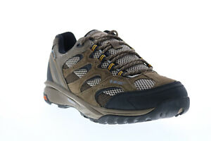 Hi-Tec Trail Blazer TRAILBLZMD Mens Brown Suede Athletic Hiking Shoes 8.5