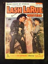 Lash LaRue Western #47 (July 1953, Fawcett) Golden Age Comic Book
