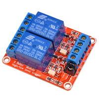 2-Kanal Relais 5V 10A High und Low Level Trigger Optokoppler Modul für Arduino
