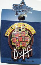 THE SIMPSONS THE SEVEN DUFFS BEER UNIVERSAL STUDIOS PIN TRADING PIN 1/500