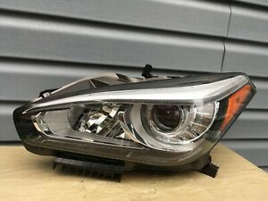 2015 2016 2017 2018 2019 Infiniti Q70 LH Headlight LED OEM AFS ADAPTIVE