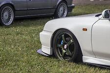 Honda Prelude 5gen 185cm Parachoques Delantero Divisor De Fibra De Carbono/rendimiento de labios V6