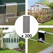 Greenhouse Flat Lap Strips Aluminium Glass Glazing Overlap Repair 40x12mm x 200