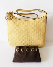 NWT Gucci Guccissima Leather Hobo Bag ~ Sunflower ~264219