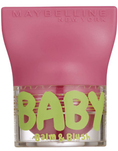 MAYBELLINE BABY LIPS LIP BALM AND BLUSH SHADE FLIRTY PINK NEW