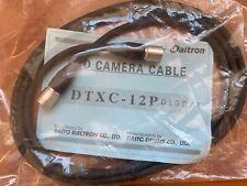 New DAITO DENSO CO. CCD Camera Cable DTXC-12P 015E/1 Security Camera Cable