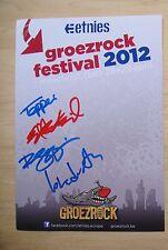Thrice - Etnies promo card signed autographed Dustin Kensrue