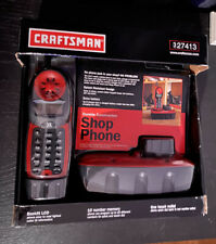 Craftsman 27413 900 Mhz Cordless Shop Phone With Original Box & An Extra Bettery