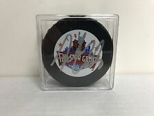 Adam Oates 1994 ALL STAR GAME Signed NHL Hockey Puck with Display Case
