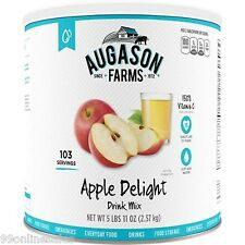 Augason Farms Apple Delight Juice Drink Mix Emergency Survival Camping Food
