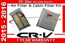 🔥Genuine OEM Honda CR-V Air Filter & Cabin Filter Kit  2015 - 2016  CRV R5A SDA