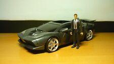 MATTEL BATMAN DARK KNIGHT BRUCE WAYNE COUPE BATMOBILE TRANSFORM INTO BATTLE CAR