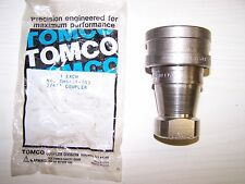 """New listing Tomco Thk6 Series Hydraulic Quick Connect Coupling Half 3/4"""" Npt Female New"""