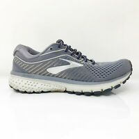 Brooks Womens Ghost 12 1203051B086 Gray Running Shoes Lace Up Low Top Size 6.5 B