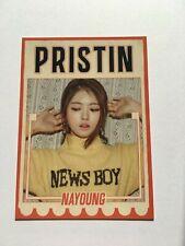 PRISTIN HI! PRISTIN NAYOUNG OFFICIAL PROFILE PHOTOCARD