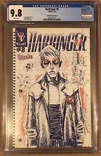 Harbinger #8 1:125 Retailer Incentive Valiant 2012 Variant Comic CGC 9.8 NM+