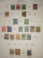Germany: 22 Used Issues of 1923, #268 / 316, Scott Catalog Value $ 50.85