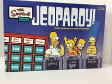 The Simpsons Edition Jeopardy! Board Game New Open Box