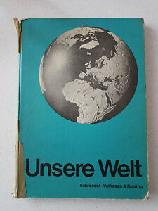 Unsere Welt Atlas 1960-1962 - Schulatlas - Retro
