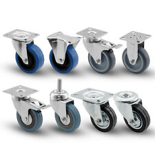 Rollen mit Bremse für Möbel Lenkrollen Palettenmöbel Rollbretter Transportrollen