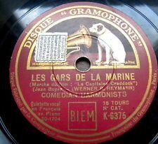 0153/ COMEDIAN HARMONISTS-Les gars de la marine (Liebe der Matrosen)-Schellack