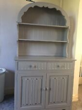 Dutch Dresser Small Welsh Dresser Cabinet Grey Upcycle Old Charm Collection Only