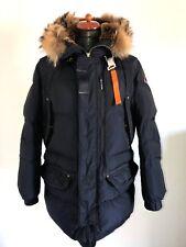 ❤ parajumpers PJS ❤ plumifero chaqueta plumón Navy con capucha talla L ❤