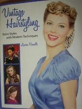 Vintage Retro 30s 40s 50s Styles Hairstyling Technique Book Rockabilly VLV Pinup