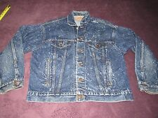 Mens Vintage Levis Acid Wash Denim Trucker Jean Jacket Size Large 70507 0229