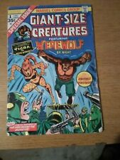 Giant Size Werewolf by Night 2,3,4,5! Giant Size Creatures 1!
