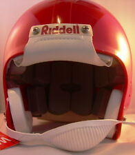 Casco de fútbol americano Riddell vsr2-y, rojo, talla L, nuevo,