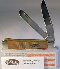 Case XX Trapper Jigged Earth Brown G-10 Pocket Knive 23306