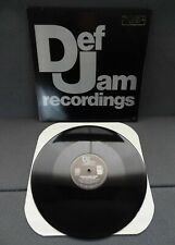 Def Jam Promo Recordings Poppa Ron Love Jazzy Jay Russell Rush 1989 Vinyl Record